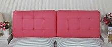 Sofa Kissen Nachtkissen Bedside weichen Beutel-Kissen-Bedside weichen Paket-Kissen-Kissen-Bett-Kissen-Kissen Haushalt Kissen Büro Lendenkissen ( farbe : # 2 , größe : 1.2m )