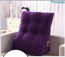Sofa Kissen Nachtkissen Drei - dimensionale Dreieck Lendenkissen Bett mit Kissen Bett Kissen großes Dreieck Kissen Sofakissen Haushalt Kissen Büro Lendenkissen ( größe : 45*55cm )