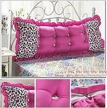 Sofa Kissen Nachtkissen Günstige Baumwolle Bett großes Kissen Bett Rückenlehne Kissen Paar Doppel Kissen gepolstert Haushalt Kissen Büro Lendenkissen ( Farbe : #6 , größe : 1.8m )