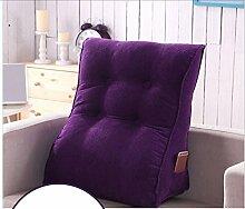 Sofa Kissen Nachtkissen Kissen Sofa Büro Kissen Dreieck Kissen Nachtkissen Taillenkissen Nackenkissen Bettruhe Haushalt Kissen Büro Lendenkissen ( größe : 55*60cm )