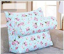 Sofa Kissen Nachtkissen Nachtkissen Büro lumbalen Rückenkissen Bett Nackenkissen Sofa Kissen Kissen Haushalt Kissen Büro Lendenkissen ( größe : 45*50*20cm )