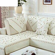 Sofa-kissen,rustikale sofa handtuch european float fenster kissen simple modern sofa cover-G 90x240cm(35x94inch)