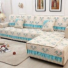 Sofa-Kissen-rutschfeste vier Jahreszeit-Sofa-Tuch-Sofa-Tuch-Sofa-Sätze ( größe : 90*90cm )