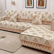Sofa-Kissen-rutschfeste vier Jahreszeit-Sofa-Tuch-Sofa-Tuch-Sofa-Sätze ( größe : 70*150cm )