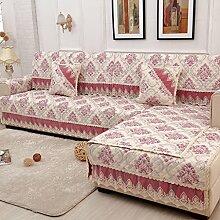 Sofa-Kissen-rutschfeste vier Jahreszeit-Sofa-Tuch-Sofa-Tuch-Sofa-Sätze ( größe : 90*120cm )
