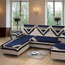 Sofa Kissen Stoff Verdickung Kissen Anti-Rutsch-Sofa Handtuch Sofa Kissen ( größe : 87*87cm )