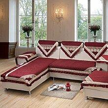 Sofa Kissen Stoff Verdickung Kissen Anti-Rutsch-Sofa Handtuch Sofa Kissen ( größe : 67*180cm )