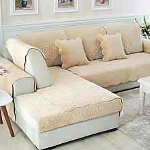 Sofa-Kissen-Tuch Gleitschutzkissen-Sofa-Sets Sofa-Tuch ( größe : 110*110cm )