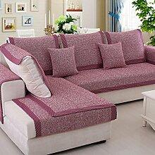 Sofa-Kissen-Tuch vier Jahreszeit-Sofa-Sets Sofa-Tuch-Baumwoll- und Leinenkissen ( größe : 70*150cm )