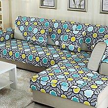 Sofa Kissen Vier Jahreszeiten Baumwolltuch Anti-Rutsch-Sofa Kissen Sofa Kissen Sofa Handtuch ( größe : 90*120cm )