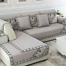 Sofa Kissen Vier Jahreszeiten Sofa Kissen Stoff Kissen Einfache Sofa Handtuch ( größe : 90*160cm )