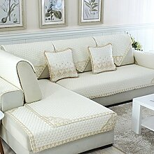 Sofa Kissen Vier Jahreszeiten Sofa Kissen Stoff Kissen Einfache Sofa Handtuch ( größe : 70*180cm )