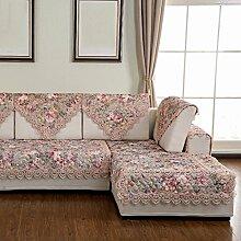 Sofa Kissen Vier Jahreszeiten Sofa Quilting Sofa Kissen Sofa Handtuch ( farbe : B , größe : 90*90cm )