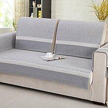 Sofa Kissen Vier Jahreszeiten Sofa Sets Sofa Handtuch Cotton und Leinen Kissen ( größe : 90*90cm )