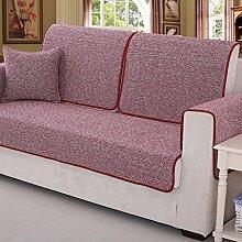 Sofa Kissen Vier Jahreszeiten Sofa Sets Sofa Handtuch Cotton und Leinen Kissen ( größe : 70*180cm )