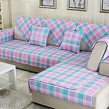 Sofa Kissen Vier Jahreszeiten Tuch Anti-Rutsch-Sofa Kissen Sofa Kissen Sofa Handtuch ( größe : 110*160cm )