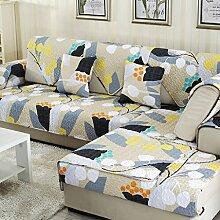 Sofa Kissen Vier Jahreszeiten Tuch Anti-Rutsch-Sofa Kissen Sofa Kissen Sofa Handtuch ( größe : 110*110cm )