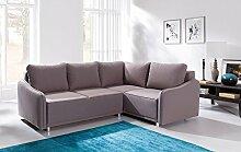 Sofa » LANA « Elegante Wohnlandschaft inkl. Schlaffunktion