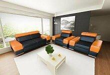 Sofa » LENOVO « Elegante Wohnlandschaft inkl. Schlaffunktion