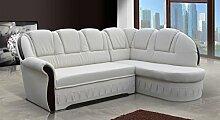 Sofa » LOUIS« Elegante Wohnlandschaft inkl. Schlaffunktion