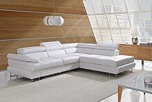 Sofa » LUTON « Elegante Wohnlandschaft inkl. Schlaffunktion