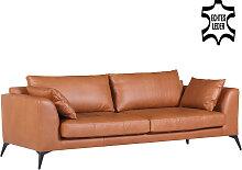 Sofa - Manhattan 3-Sitzer - Braun