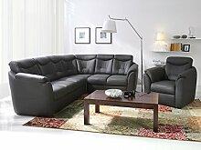 Sofa » MILANO « Elegante Wohnlandschaft inkl. Schlaffunktion