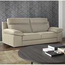 Sofa Misael aus Echtleder