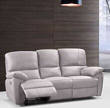 Sofa mit Relaxfunktion Beige