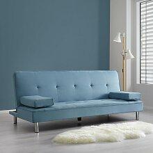 Sofa mit Schlaffunktion in Blau 'Esther'
