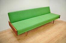 Sofa mit Teak Armlehnen, 1960er