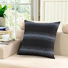 Sofa Pillow Cushion Covers,Bedside Pillow Pillow Pillow-B 45x45cm(18x18inch)VersionB