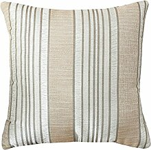 Sofa Pillow,Striped Fabric Bed Cushion Cover,Core Pillow-B 55x55cm(22x22inch)VersionB