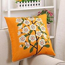 Sofa Printing Pillow Cushion,Office Waist By Car Back,Pillow Pillow Pillow-B 45x45cm(18x18inch)VersionA
