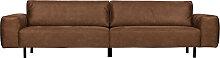 Sofa - Rebound 3-Sitzer-Braun