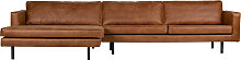 Sofa - Rodeo Recamiere Links - Braun