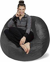 Sofa Sack - Bean Bags Memory Schaum Stuhl, 4-Fuß,