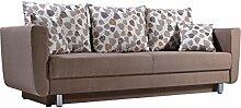 Sofa Samara mit Bettkasten und Schlaffunktion,