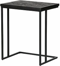 Sofa-Tisch Sharing Beistelltisch U-Form schwarz