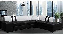 Sofa » TONA « Elegante Wohnlandschaft inkl. Schlaffunktion