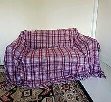 Sofa Überwurf Bett Überwurf Decke für Stuhl,