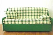 Sofa Vanitoso bereit Bett Uni Size mit bequemen Armlehnen seitlichen für