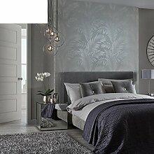 Sofa-Wand-Tapete Umweltstudie Tapete Einfache Schlafzimmerwand-B