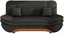 Sofa Weronika Lux mit Bettkasten und Schlaffunktion, Schlafsofa, Große Farb- und Materialauswahl, Couch vom Hersteller, Wohnlandschaft (Lawa 06)