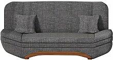 Sofa Weronika Lux mit Bettkasten und Schlaffunktion, Schlafsofa, Große Farb- und Materialauswahl, Couch vom Hersteller, Wohnlandschaft (Azj 06)