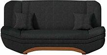 Sofa Weronika Lux mit Bettkasten und Schlaffunktion, Schlafsofa, Große Farb- und Materialauswahl, Couch vom Hersteller, Wohnlandschaft (Boss 14)