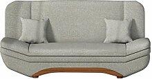 Sofa Weronika Lux mit Bettkasten und Schlaffunktion, Schlafsofa, Große Farb- und Materialauswahl, Couch vom Hersteller, Wohnlandschaft (Lux 05)