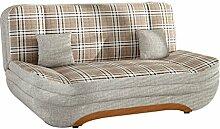 Sofa Weronika Smart mit Bettkasten und Schlaffunktion, große Farbauswahl, Schlafsofa, Couch vom Hersteller, Wohnlandschaft (Muna 02 + Lobox 01 + Muna 02)