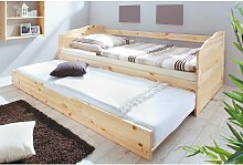 Sofabett Gästebett mit Auszug 90x20cm VERNIER-22