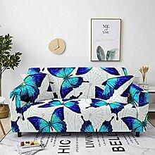 Sofabezug Beige Druck Sofa überzug Stretch